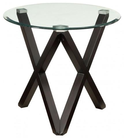 Meera Espresso End Table