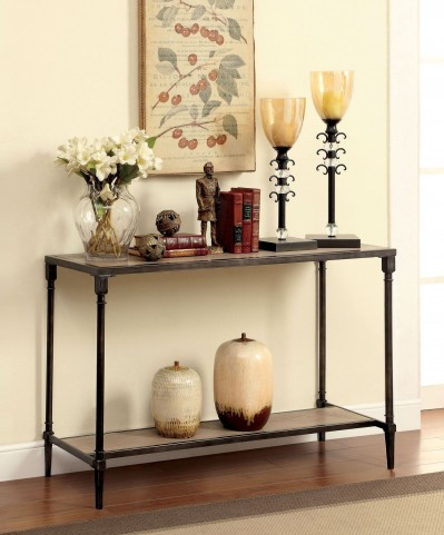 Lenore Natural Oak Sofa Table