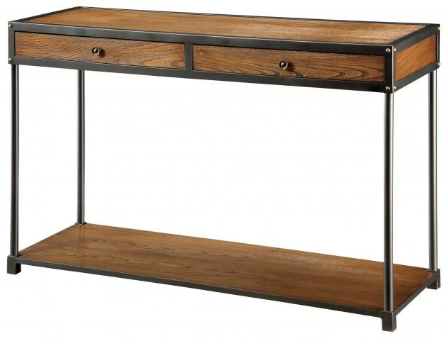 Hecura I Antique Oak Sofa Table
