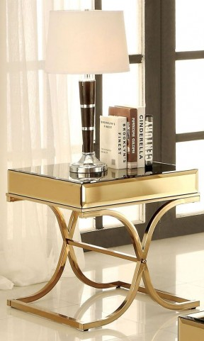 Sundance Brass End Table