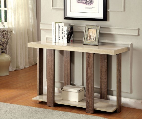 Lakoti II Light Oak Sofa Table