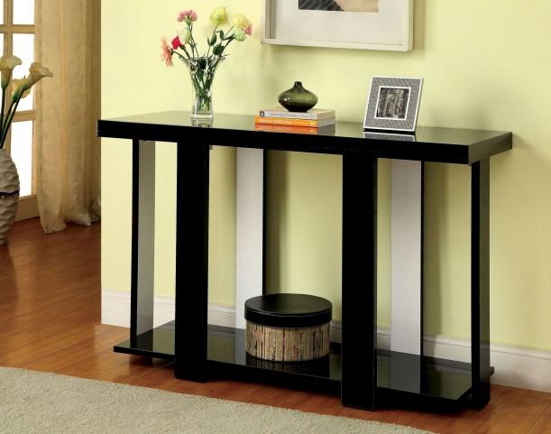 Lakoti I Black Sofa Table
