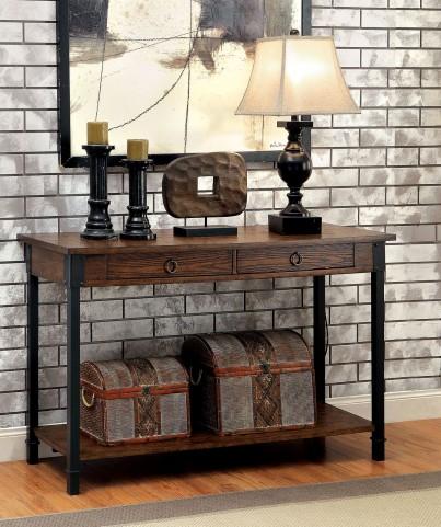 Paige Medium Weathered Oak Sofa Table