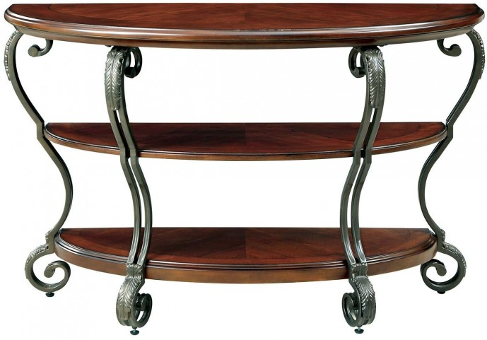 May Brown Cherry Sofa Table