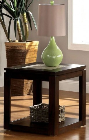 Verona Espresso End Table
