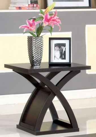Arkley Espresso End Table