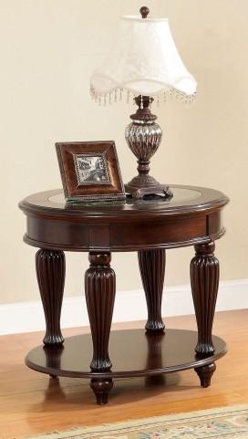 Centinel Dark Cherry End Table