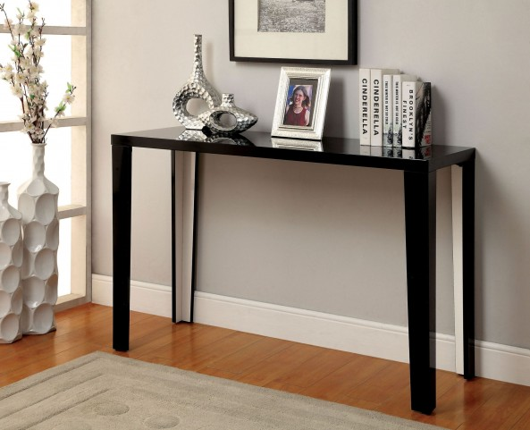 Rheinhardt Black Sofa Table