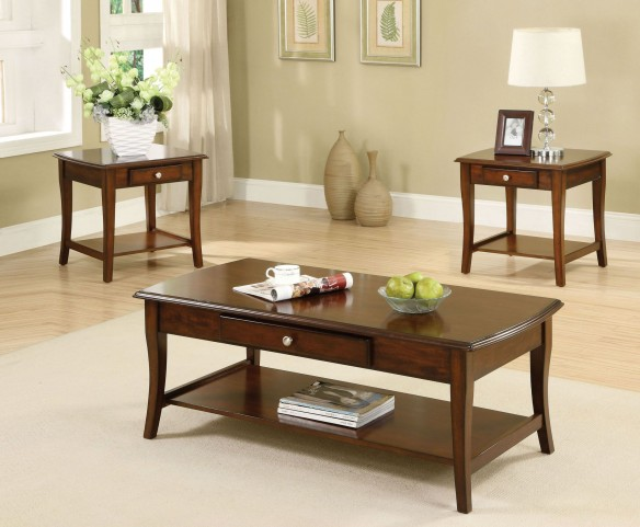 Lincoln Park 3 Piece Occasional Table Set