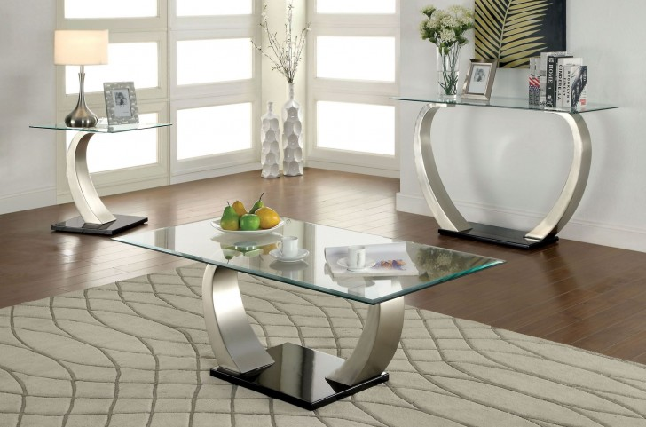 Roxo White Occasional Table Set