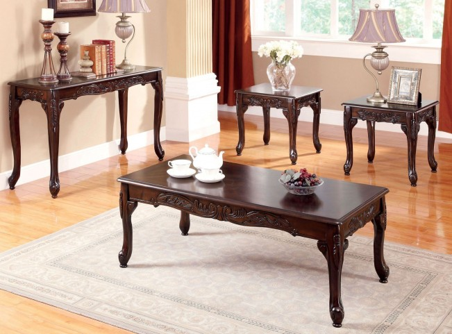 Cheshire Cherry 3 Piece Occasional Table Set
