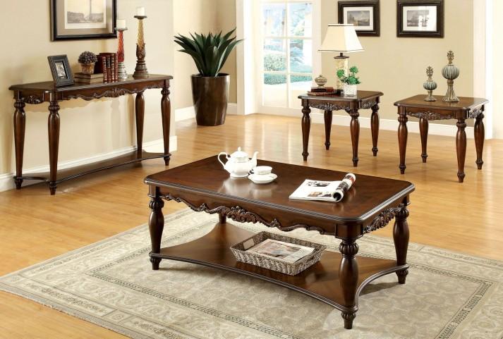 Bunbury Cherry 3 Piece Occasional Table Set