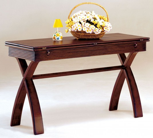 Kingston Cherry Extendable Top Console Table