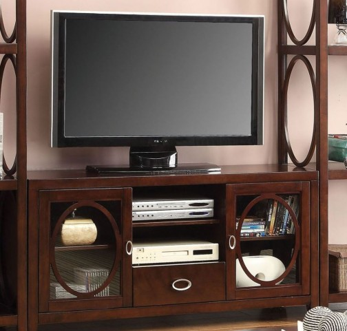 "Melville Cherry Finish 56"" TV Console"