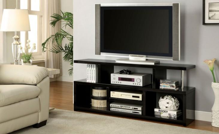 """Evere 60"""" Black TV Console"""