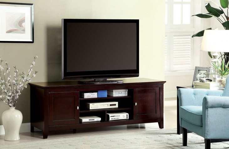 "Maris Dark Cherry 72"" TV Stand"