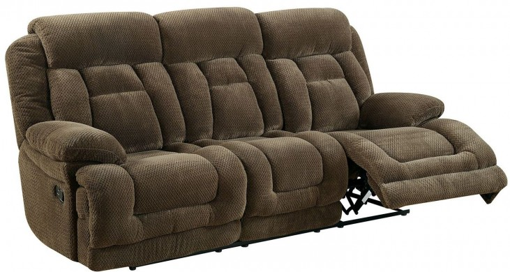 Grenville Brown Reclining Sofa