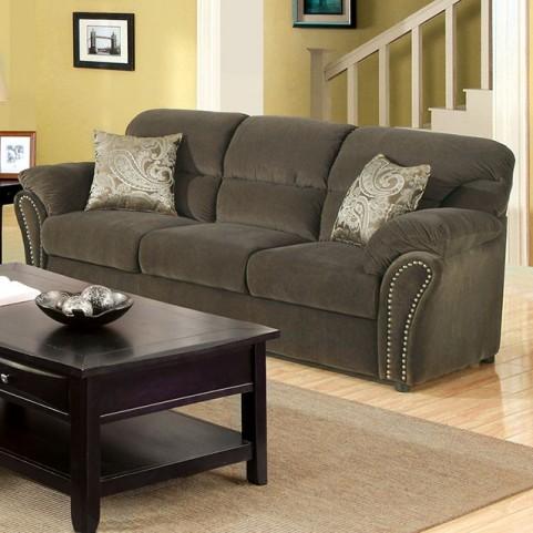 New Sarum Olive Gray Sofa