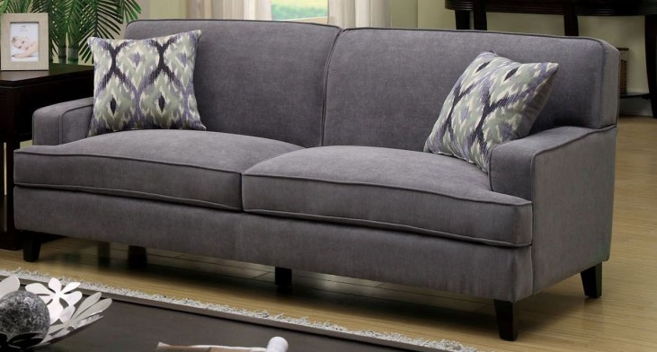Francis Gray Fabric Sofa
