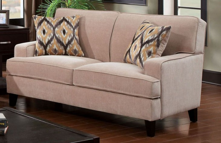 Francis Ivory Loveseat