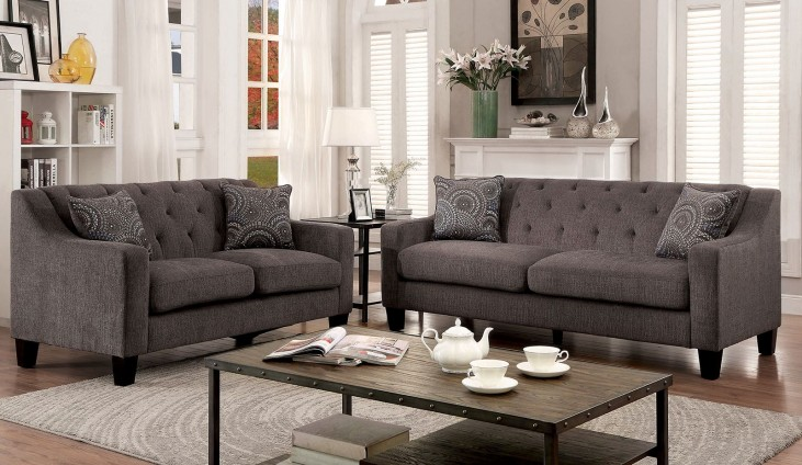 Marlene Gray Living Room Set