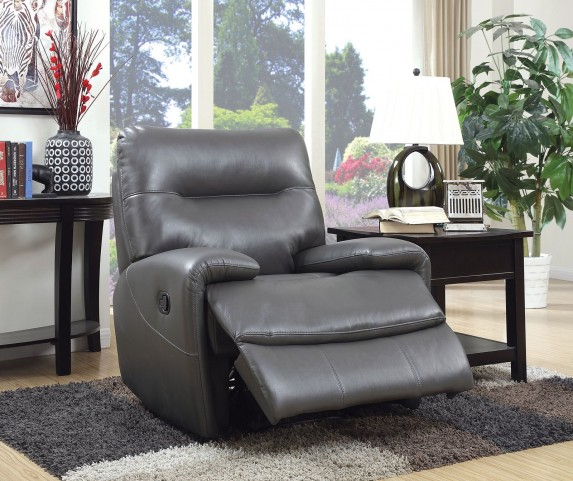 Binford Gray Recliner