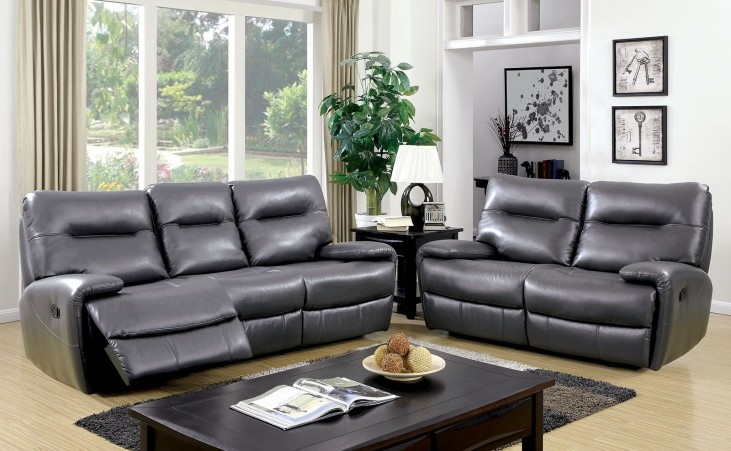 Binford Gray Living Room Set