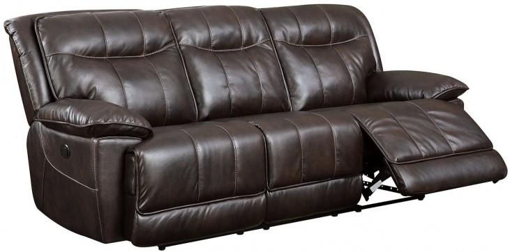 Dolton Brown Power Reclining Sofa