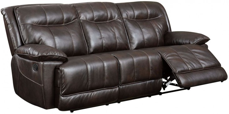 Dolton Brown Reclining Sofa