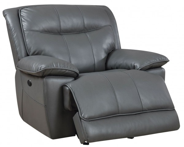 Dolton Gray Power Reclining Chair