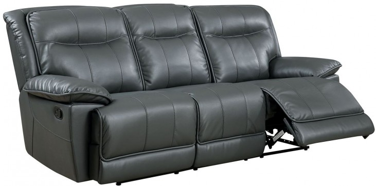 Dolton Gray Reclining Sofa