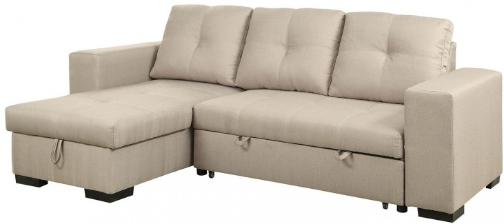 Denton Ivory Fabric Sectional