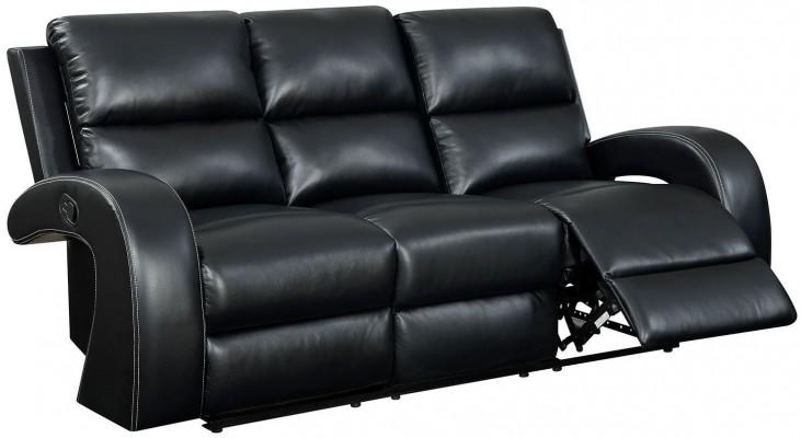 Odette Black Sofa