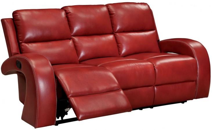 Odette Red Sofa