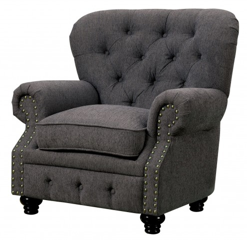 Stanford Gray Fabric Chair