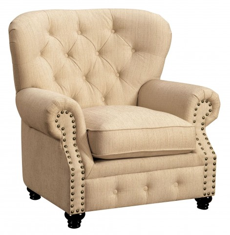 Stanford Ivory Fabric Chair