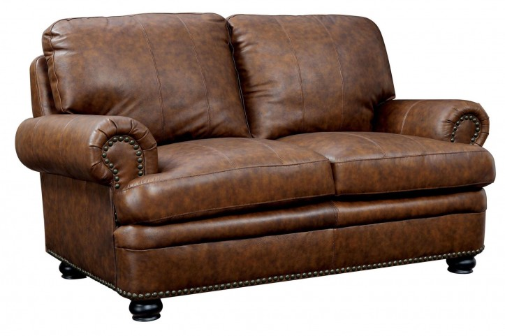Rheinhardt Top Grain Leather Loveseat