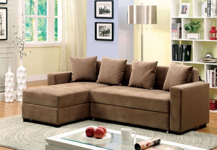 Murdo Brown Fabric Sectional