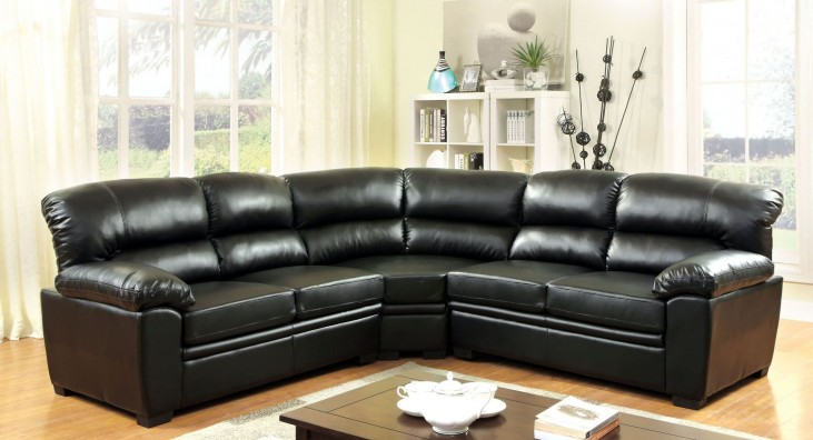 Oliver Black Sectional