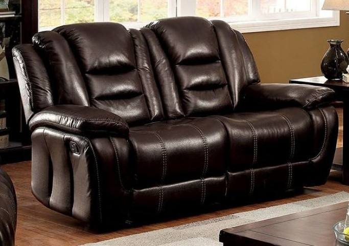 Ronan Dark Brown Loveseat