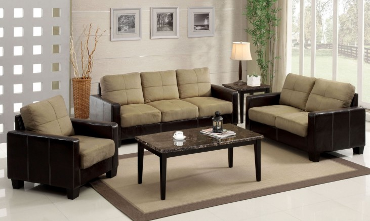 Laverne Tan Living Room Set