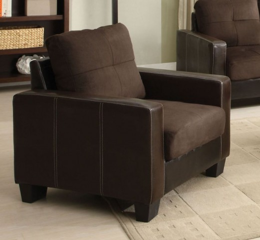 Laverne Chocolate Chair