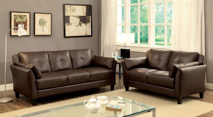 Pierre Brown Living Room Set