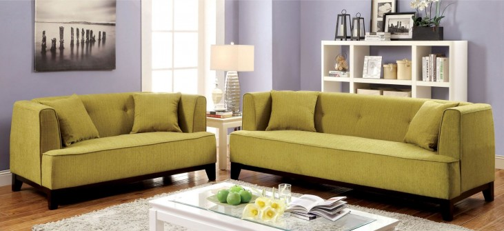 Sofia Lemongrass Living Room Set