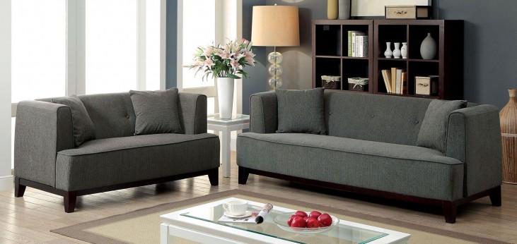 Sofia Gray Living Room Set