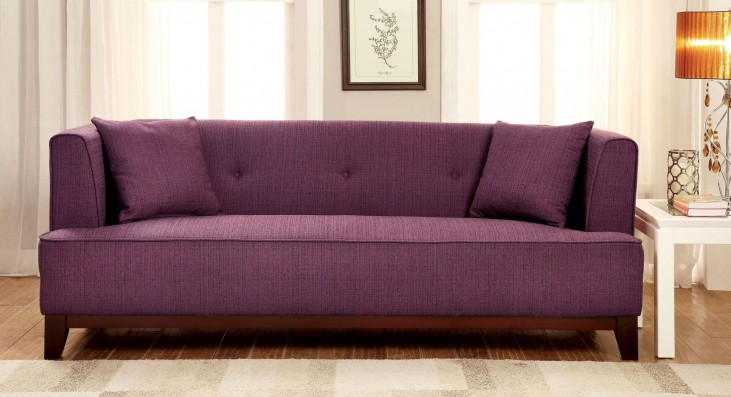 Sofia Purple Sofa