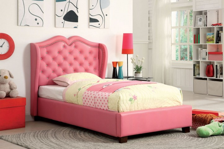 Monroe Pink Full Bed