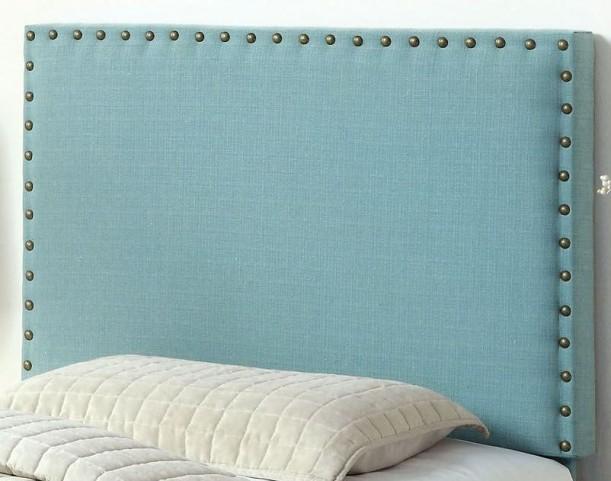 Herstal Blue Twin Size Headboard