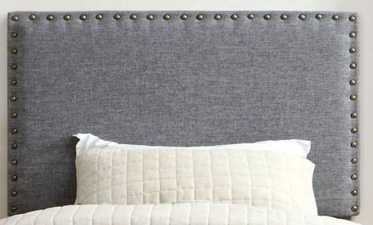 Herstal Gray Twin Size Headboard