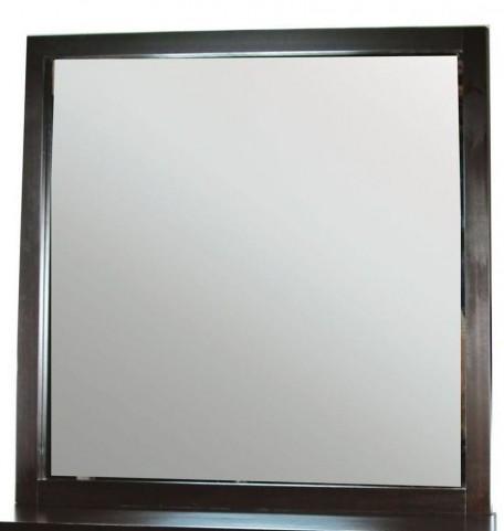 Enrico I Dark Espresso Mirror
